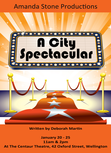 A City Spectacular Poster