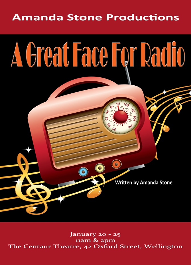 A Great Face For Radio Poster