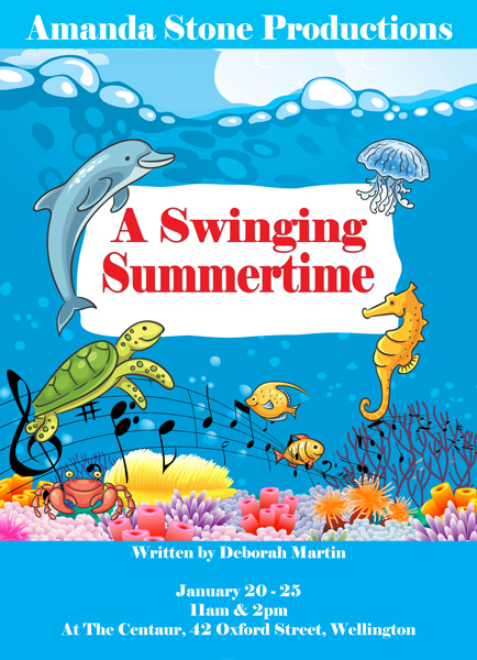 A Swinging Summertime Poster