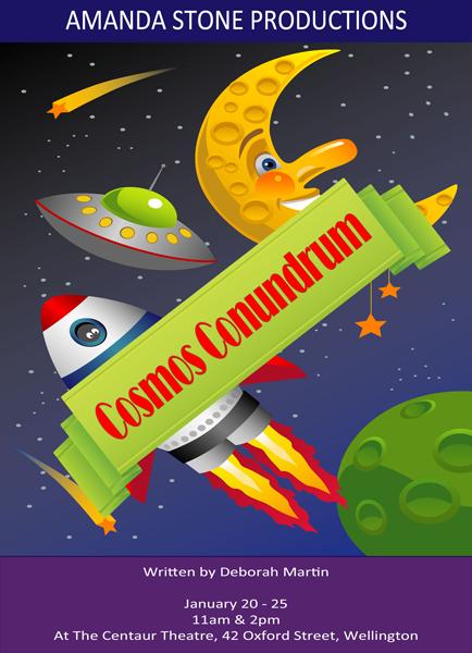 Cosmos Conundrum Poster
