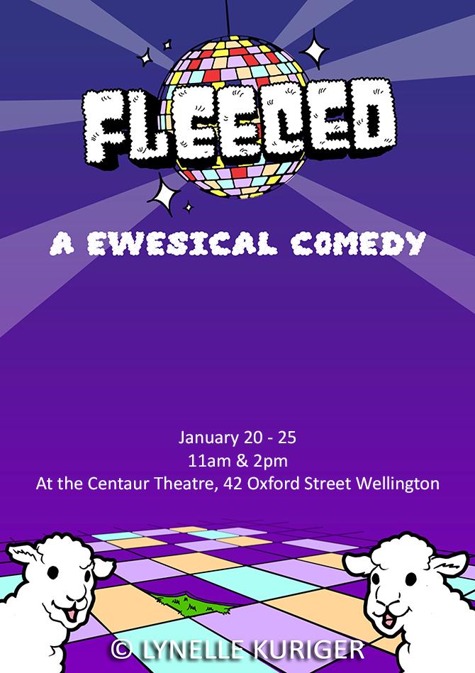 Fleeced Poster