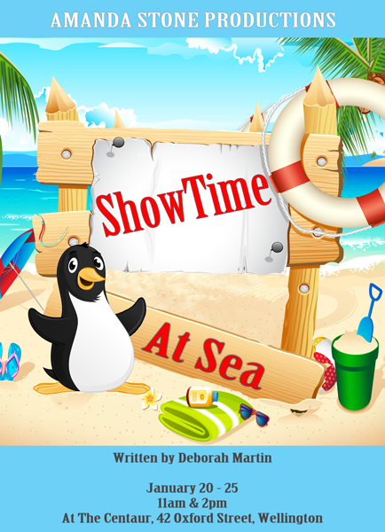 ShowTime At Sea Poster