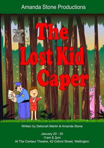 The Lost Kid Caper Poster